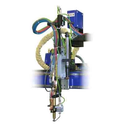 ZINSER CUTTING HEAD FOR CNC CUTTING MACHINE ZAC 2100 - TWIN