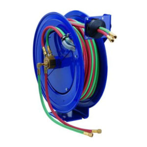 HOSE REEL FOR OXYGEN - ACETYLINE