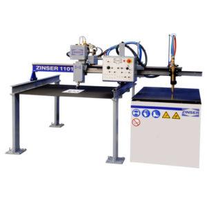 OXYFUEL CNC CUTTING MACHINE ZINSER 1101