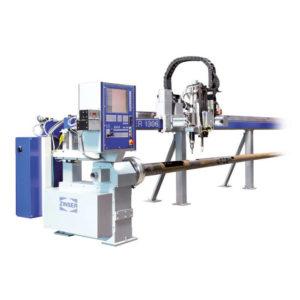 OXYGEN CUTTING MACHINE + PLASMA FOR PIPES ZINSER 1304