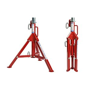 TAG PIPE FOLDING TRI STAND
