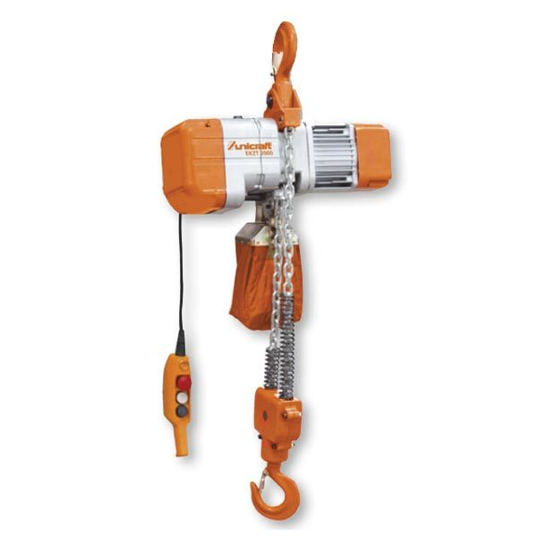 Electric Chain Hoist With Hook: LTF ELECTRIC CHAIN HOIST WITH SUSPENSION HOOK EKZT