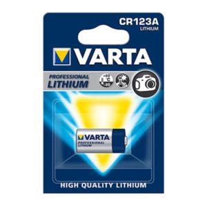 VARTA ΜΠΑΤΑΡΙΑ ΛΙΘΙΟΥ 3V CR123A