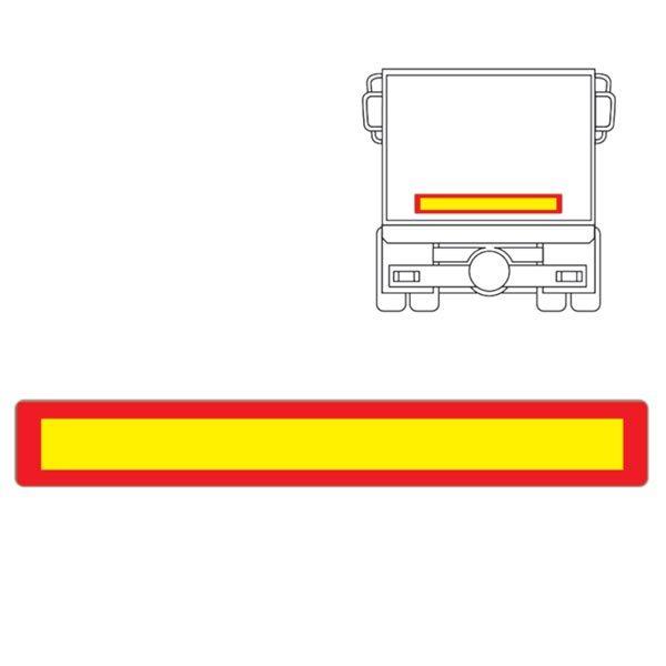 ADR ΠΙΝΑΚΙΔΑ TRAILER ≥3500kg ECE 70 01