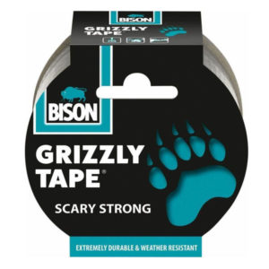 BISON ΤΑΙΝΙΑ ΥΦΑΣΜΑΤΙΝΗ ΓΚΡΙ GRIZZLY 10m
